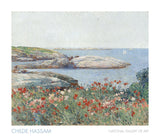 Poppies, Isles of Shoals, 1891 -  Childe Hassam - McGaw Graphics