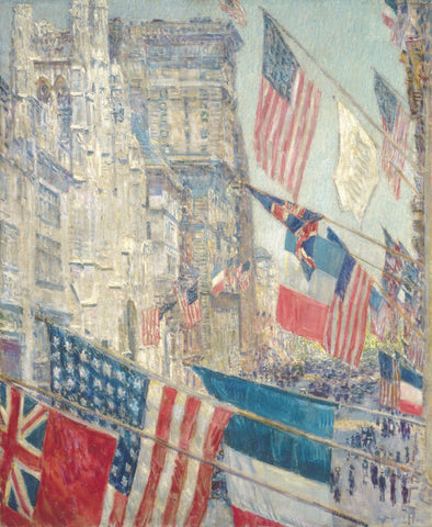 Allies Day, May 1917, 1917 -  Childe Hassam - McGaw Graphics