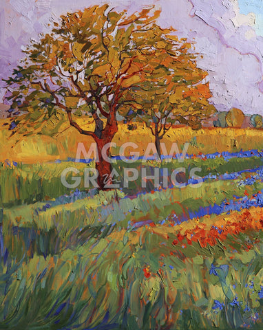 Colors of Brenham (left) -  Erin Hanson - McGaw Graphics