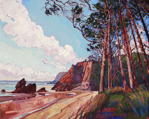 Erin Hanson - Winding Pines