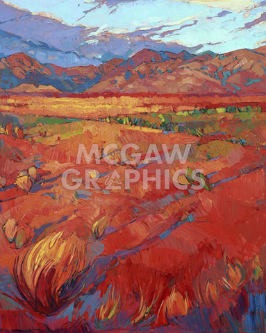 Desert Rainbow (center) -  Erin Hanson - McGaw Graphics
