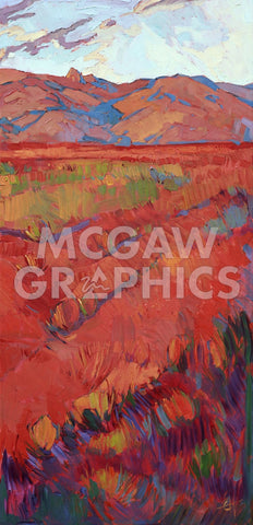 Desert Rainbow (right) -  Erin Hanson - McGaw Graphics