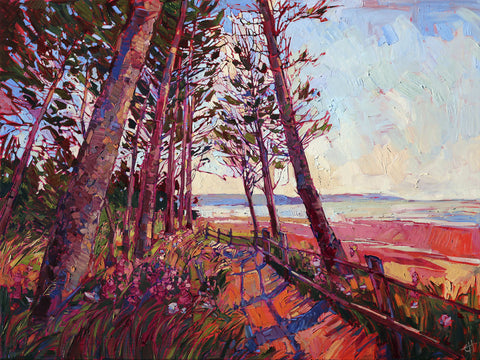 Erin Hanson - Against the Coast
