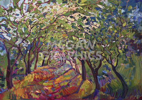 The Path -  Erin Hanson - McGaw Graphics