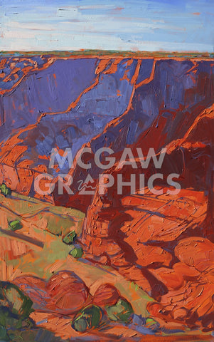 Patterns in Triptych (right) -  Erin Hanson - McGaw Graphics