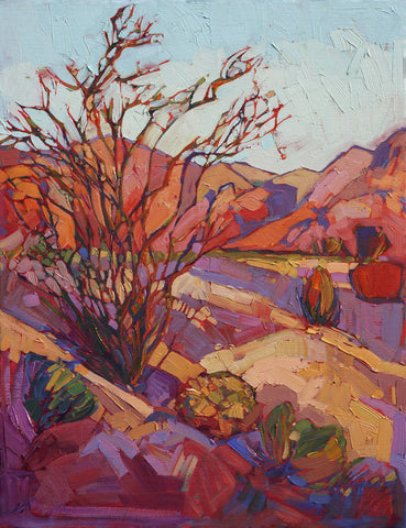 Erin Hanson - Ocotillo Shadow