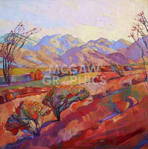 Erin Hanson - Ocotillo Triptych (center)