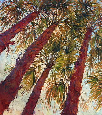Erin Hanson - Into the Palms (left)