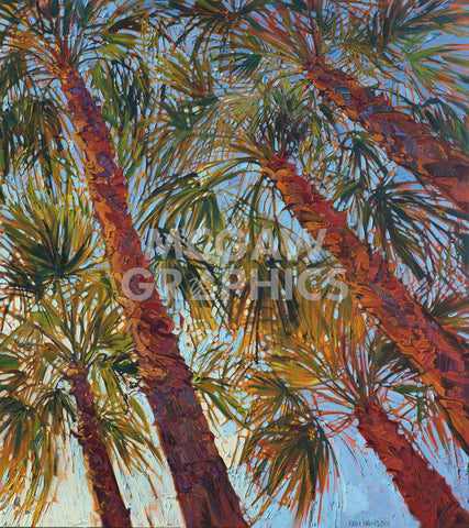 Into the Palms (right) -  Erin Hanson - McGaw Graphics