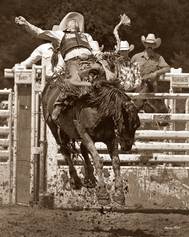 And They Call The Thing Rodeo! -  Barry Hart - McGaw Graphics