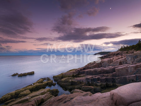 Dusk Along the Maine Coast -  Michael Hudson - McGaw Graphics