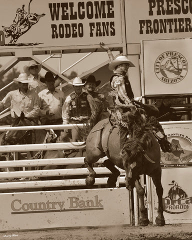 The Ballet of the Rodeo -  Barry Hart - McGaw Graphics