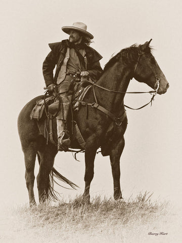 Vintage Cowboy -  Barry Hart - McGaw Graphics
