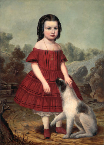 John Jacob Hegler - Portrait of Alice Lyons, ca. 1855