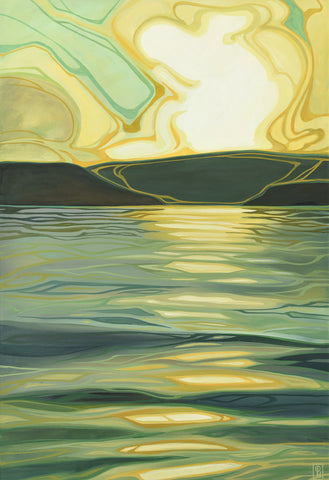 Erica Hawkes - Sun-Kissed Waves II