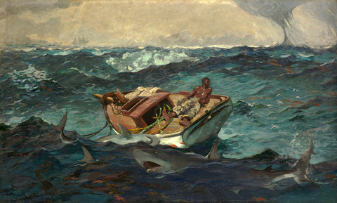 The Gulf Stream, 1899 -  Winslow Homer - McGaw Graphics
