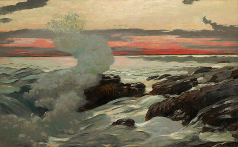 West Point, Prout's Neck, 1900 -  Winslow Homer - McGaw Graphics