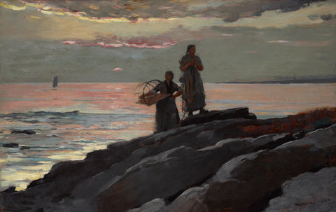 Saco Bay, 1896 -  Winslow Homer - McGaw Graphics