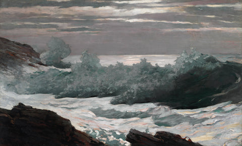 Early Morning After a Storm at Sea, 1900-1903
