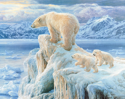 Ice Castle - Polar Bears - McGaw Graphics