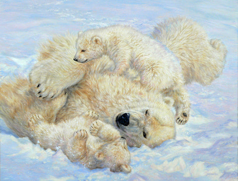 Arctic Playground - Polar Bears - McGaw Graphics