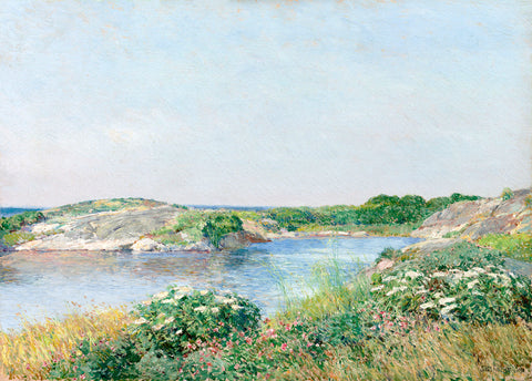 The Little Pond, Appledore, 1890 - McGaw Graphics