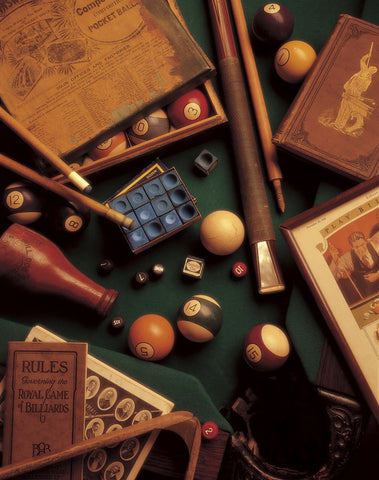 Billiards -  Michael Harrison - McGaw Graphics