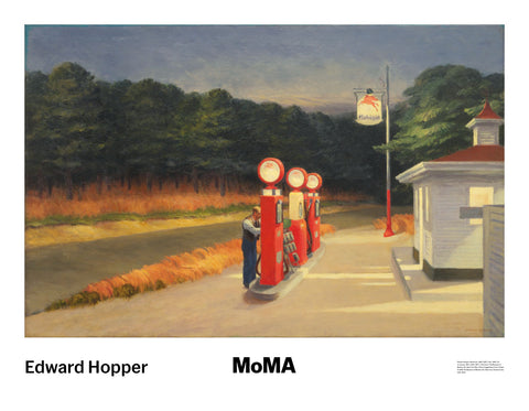 Gas, 1940 -  Edward Hopper - McGaw Graphics