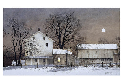 Full Moon -  Ray Hendershot - McGaw Graphics