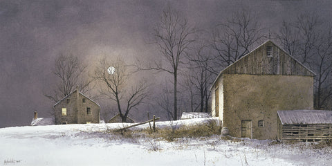 Evening at Long Farm -  Ray Hendershot - McGaw Graphics