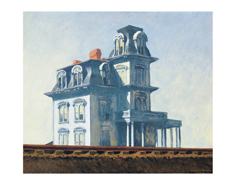 House by the Railroad, 1925 -  Edward Hopper - McGaw Graphics