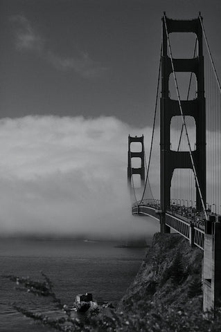 Golden Gate Fog -  Sabri Irmak - McGaw Graphics