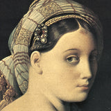 The Grand Odalisque (detail) -  Jean Auguste Dominique Ingres - McGaw Graphics