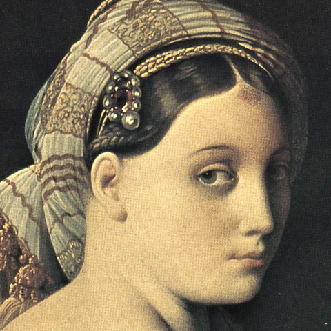 Jean Auguste Dominique Ingres - The Grand Odalisque (detail)