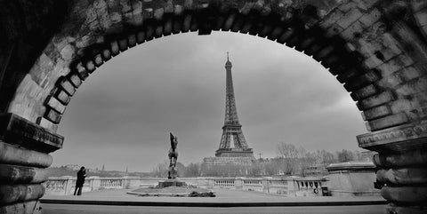Paris, Under the Bridge -  Sabri Irmak - McGaw Graphics