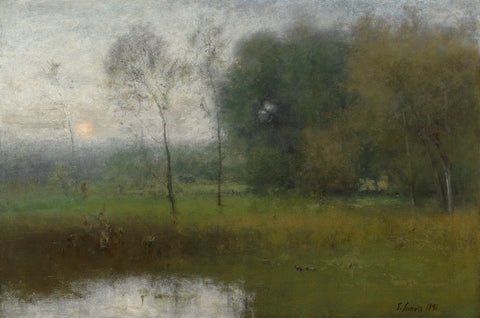 New Jersey Landscape, 1891 -  George Inness - McGaw Graphics