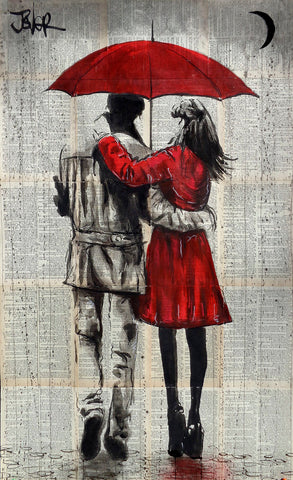 Falling Waters -  Loui Jover - McGaw Graphics