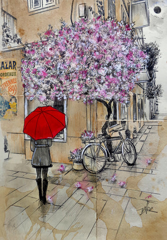 Bordeaux Moment 2 -  Loui Jover - McGaw Graphics