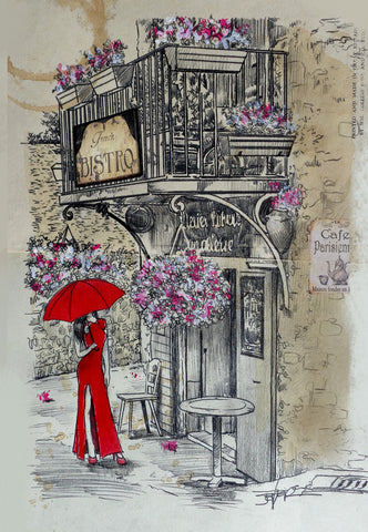 French Bistro -  Loui Jover - McGaw Graphics