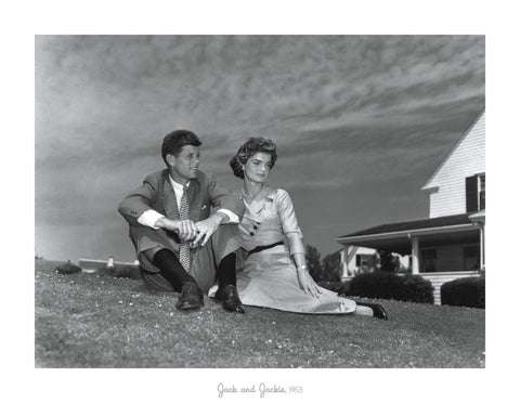 Jack and Jackie, 1953 -  Celebrity Photography - McGaw Graphics