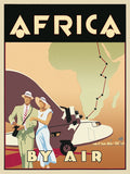 Africa by Air -  Brian James - McGaw Graphics