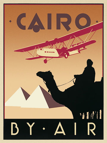 Cairo by Air -  Brian James - McGaw Graphics