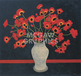 Red Poppies -  Beverly Jean - McGaw Graphics