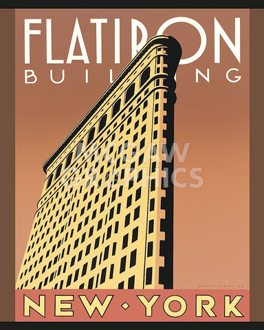 Flatiron Building -  Brian James - McGaw Graphics