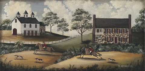 Barbara Jeffords - Fox Hunt