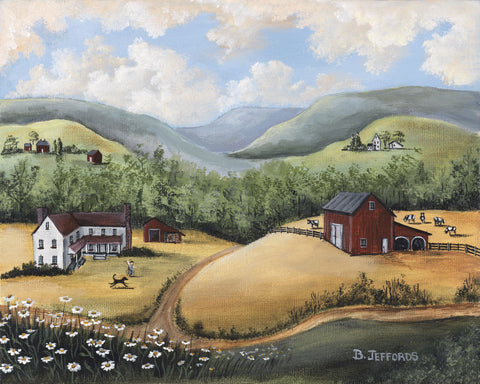 Barbara Jeffords - The Hills of Home