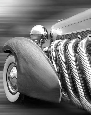 Duesenberg in Motion -  Richard James - McGaw Graphics