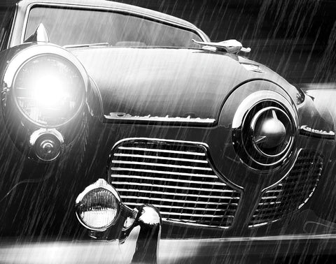 Studebaker Rain -  Richard James - McGaw Graphics