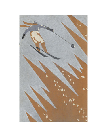 Awara in Snow -  Artist Unidentified Japanese - McGaw Graphics