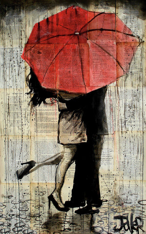 The Red Umbrella -  Loui Jover - McGaw Graphics